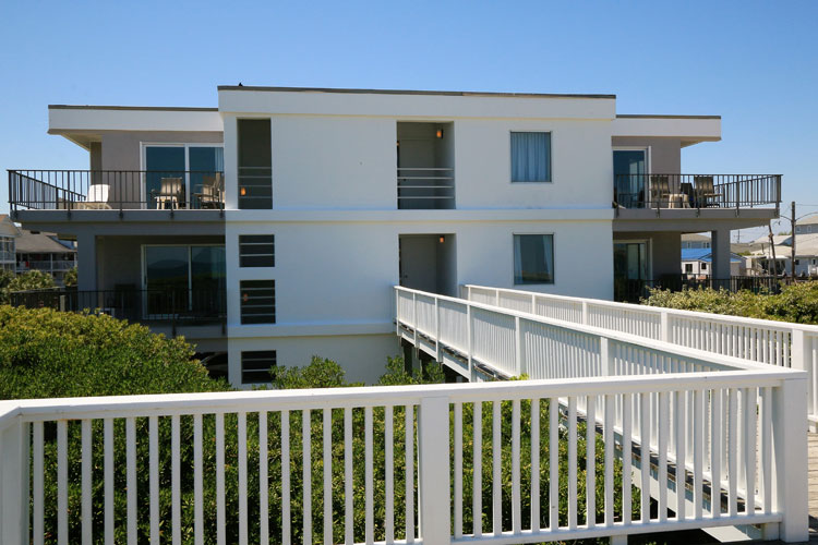 Silver Gull Motel Ocean Front Accommodation Wrightsville Beach